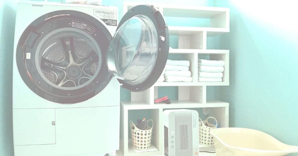 賃貸で洗濯機が置けない