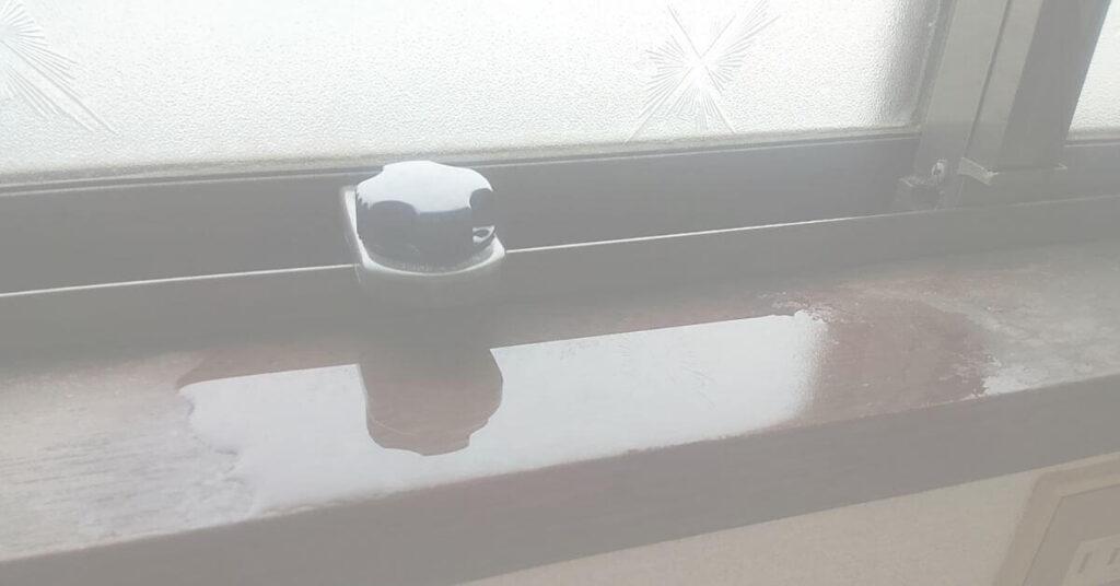 アパートの雨漏り